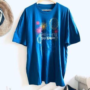 DISNEY PARKS magic kingdom T-shirt 3xl fireworks